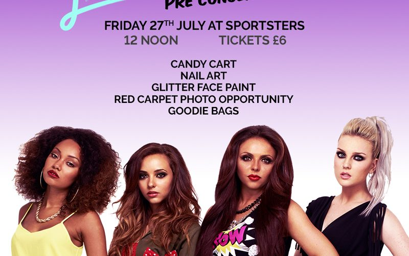 Little Mix Pre-Concert party